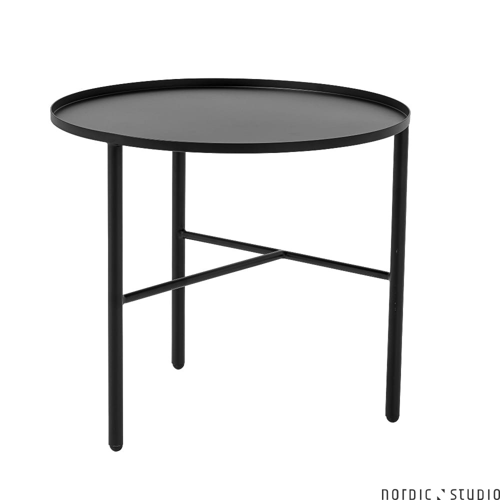 Ogromny Pretty metalowy stolik kawowy S, czarny - Bloomingville Nordic Studio SU74