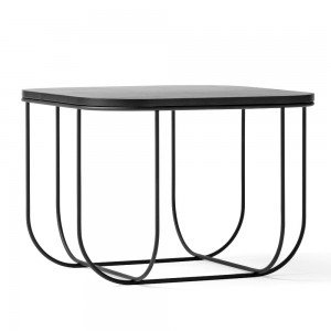Czarny stolik kawowy FUWL cage table - Menu