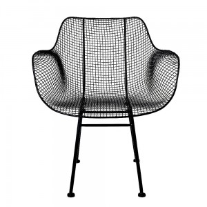 Fotel Tide Lounge Chair, czarny - Bloomingville