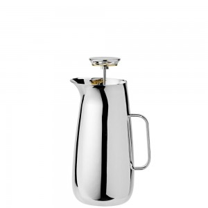 Kawiarka Foster French Press srebrny, stal  - Stelton