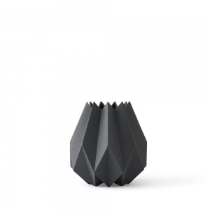 Wazon Folded, wysoki, Carbon - Menu